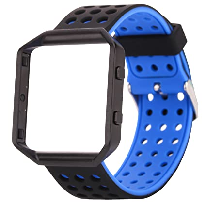 Amazon.com : JIELIELE Smartwatch Blaze Replacement Bands ...