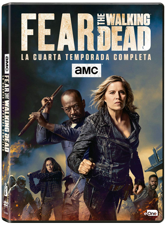 Fear The Walking Dead Temporada 4 Dvd Amazon Es Kim Dickens Frank Dillane Cliff Curtis Dave Erickson Robert Kirkman Kim Dickens Frank Dillane Películas Y Tv