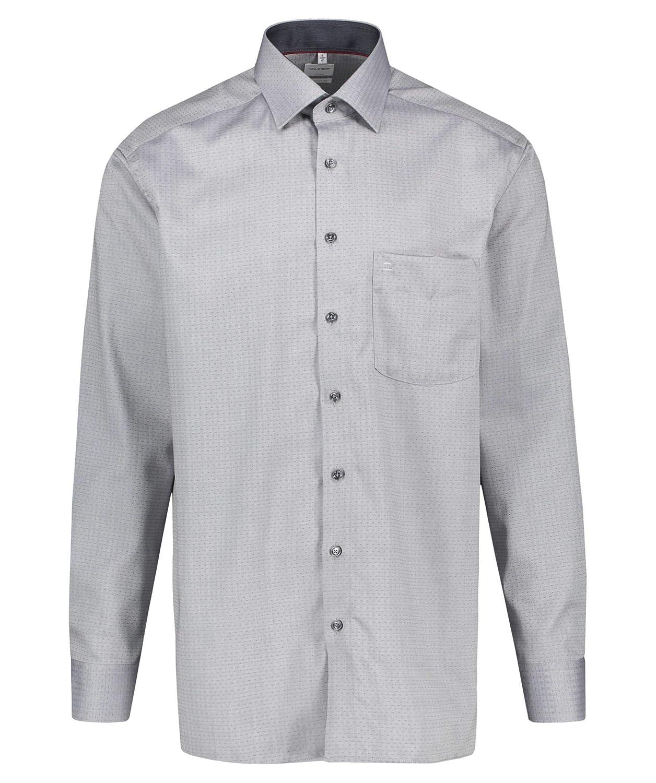 Olymp - Camisa Formal - Liso - Cuello Kent - Manga Larga - para Hombre
