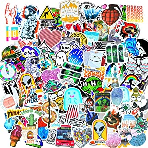Cute Laptop Stickers for Girls 50Pcs,Funny Water Bottle Stickers Decals for Hydro Flask,Computer,Mackbook, Ipad,Mobile Phones,Notebook(Stype A)