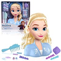 Disney Frozen 2 Elsa Styling Head, 14-Pieces