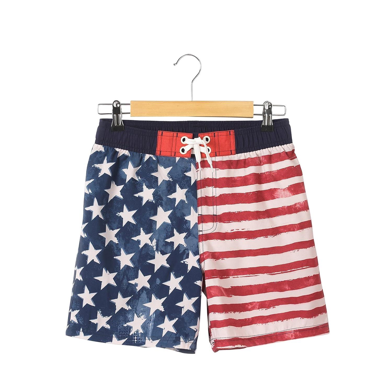 La Redoute Collections Bambino Shorts da Bagno Fantasia Bandiera USA 1016 Anni 350010930