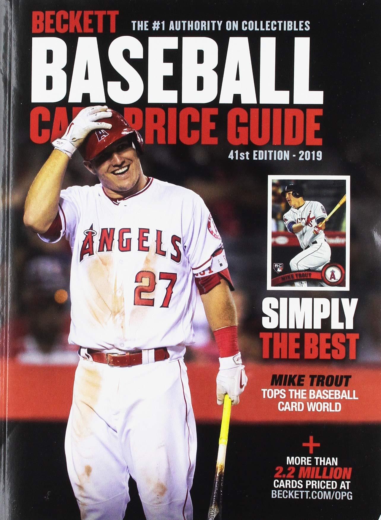 Beckett Baseball Card Price Guide 2019 Beckett Media