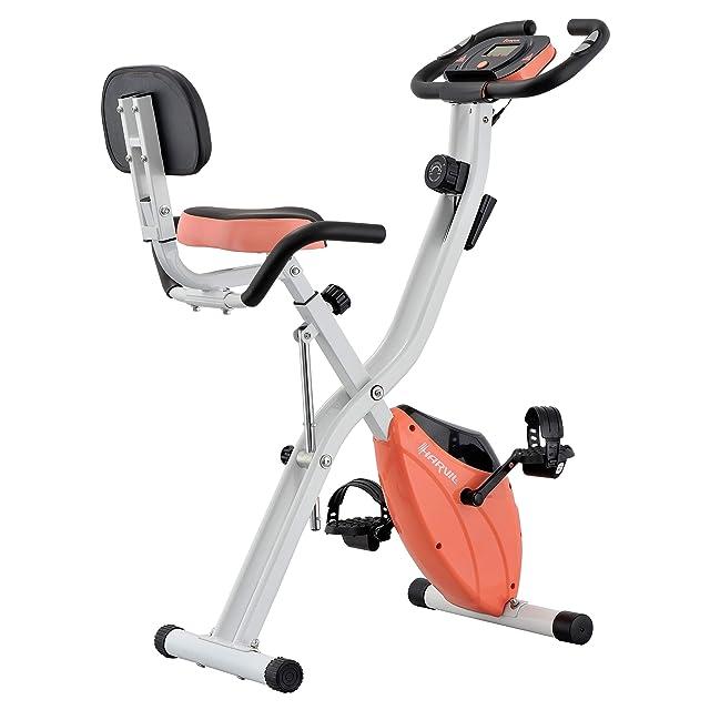 Harvil Foldable Upright Exercise Bike