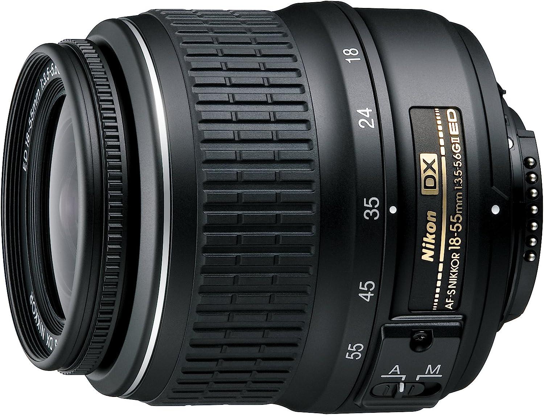 Nikon 2170 AF-S DX ED II - Objetivo Nikkor (18-55 mm, 1:3,5-5,6 ...