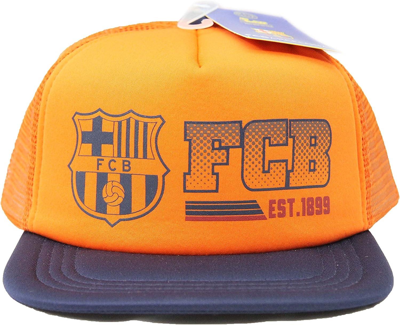 Auténtica gorra – oficial del FC Barcelona Rhinox: Amazon.es ...