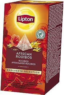Lipton Selección Exclusiva Infusión African Rooibos Caja con 25 sobres