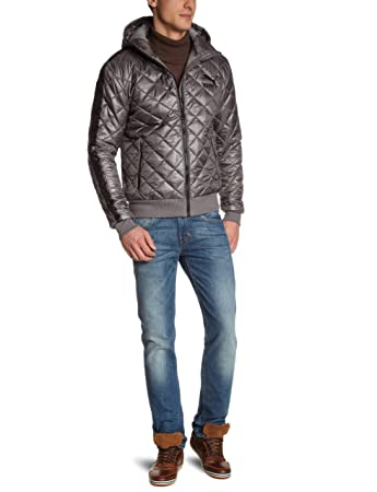 4d511d89b55 Puma Me Men's Padded Jacket grey gray Size:XX-Large: Amazon.co.uk ...