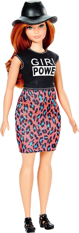 Amazon.es: Barbie Fashionista Falda Estampado Felino (Mattel Spain ...