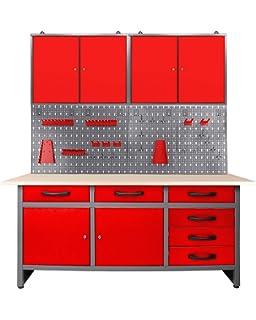Sehr Ondis24 Werkstatteinrichtung Werkstatt Set Werkbank Klaus 240 cm SW68