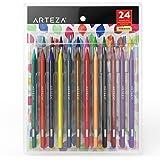 Arteza Woodless Watercolor Pencils (Set of 24)