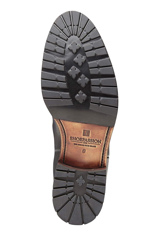 SchuhePASSION - No. 6810 - - 6810 Stiefel - Hochwertiger Winterschuh für Herren. Volllederstiefel mit kuscheliger Lammfellfütterung und Rutschfester Gummisohle. 2f652c
