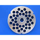 """#32 x 3/8"""" Chili grind STAINLESS STEEL Meat Grinder plate disc for Hobart LEM Cabelas Universal MTN & others"""