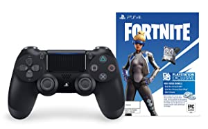 DualShock 4 Wireless Controller for PlayStation 4 - Fortnite Jet Black