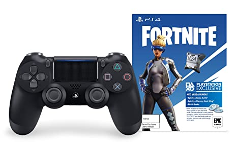Cross Platform Game To Replace Fortnite Amazon Com Dualshock 4 Wireless Controller For Playstation 4 Fortnite Jet Black Video Games