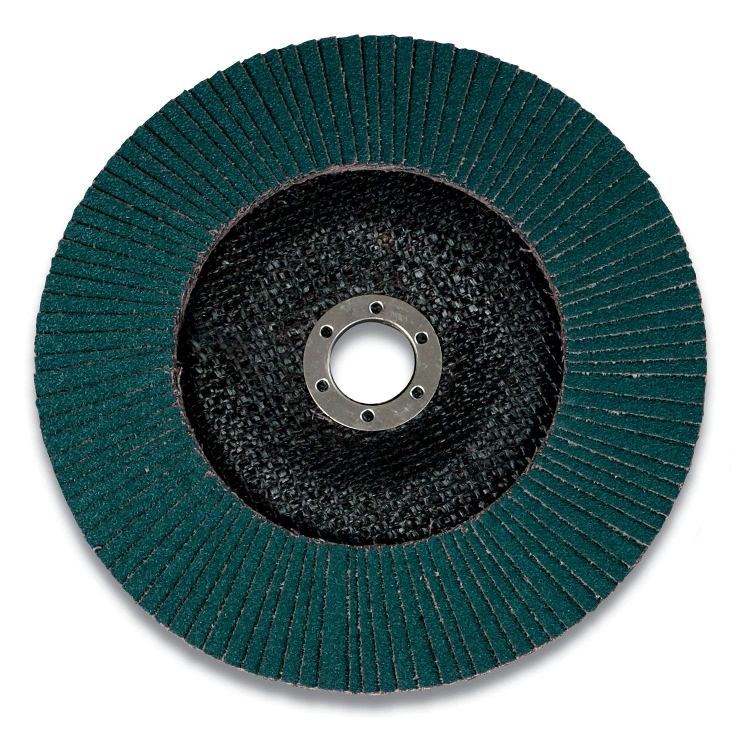 Abrasive Grit T27 7 x 7//8 in 120 X-weight 3M 28917 Flap Disc 546D Cloth Backing T27 7 x 7//8 in 120 X-weight Alumina Zirconia