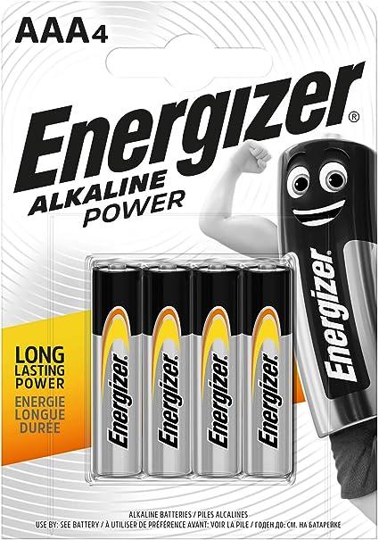 Energizer Batterie Alkaline Power Aaa Micro Elektronik