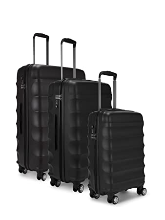 Antler Juno Set Of 3 - Large/Medium/Cabin - Suitcase, 79 cm, 110.0 ...