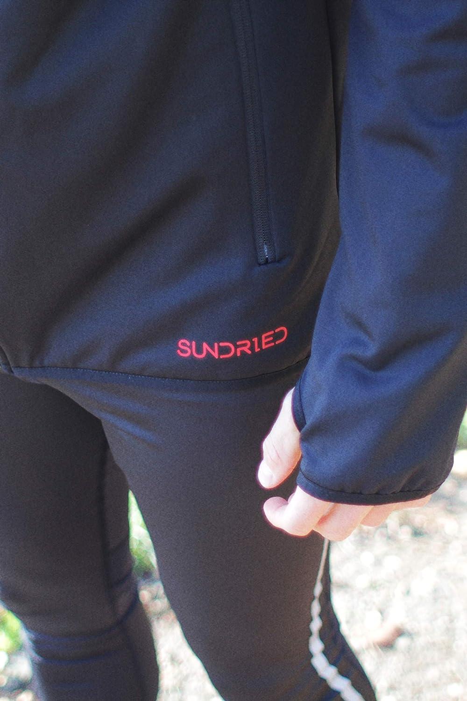 Sundried Hombres Sudadera con Capucha Ligera T/écnica Deporte Mejor para funcionar con Deportes al Aire Libre