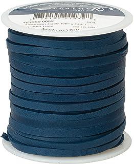 Cadet Blue 1//8 x 50 Deerskin Lace