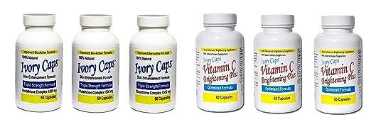 Ivory Caps Skin Whitening Lightening Support Pill …