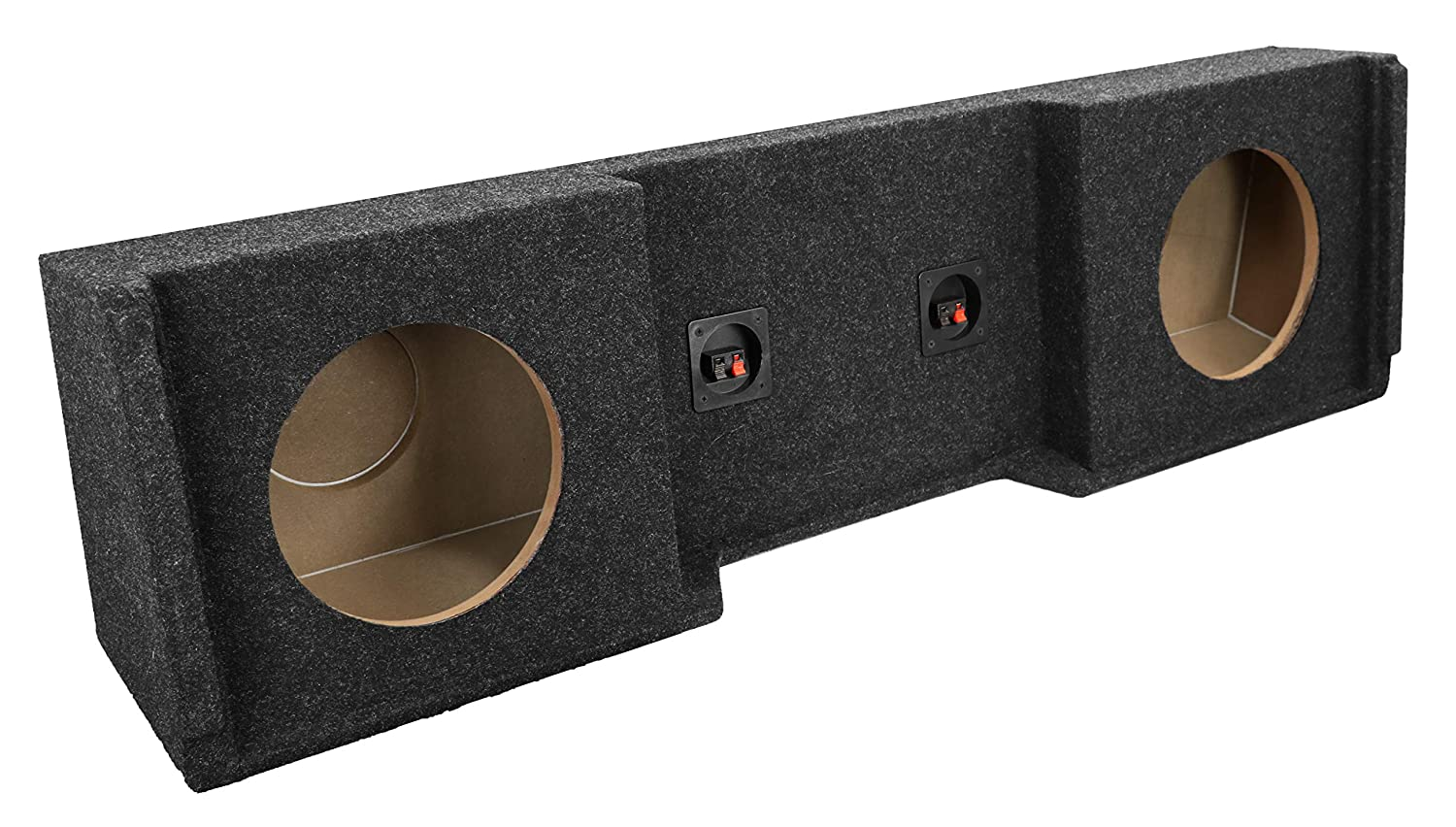 Fits 1999-2007 Chevrolet//GMC Silverado//Sierra Extended Cab ATREND Bbox A151-12CP Single 12 Sealed Carpeted Subwoofer Enclosure