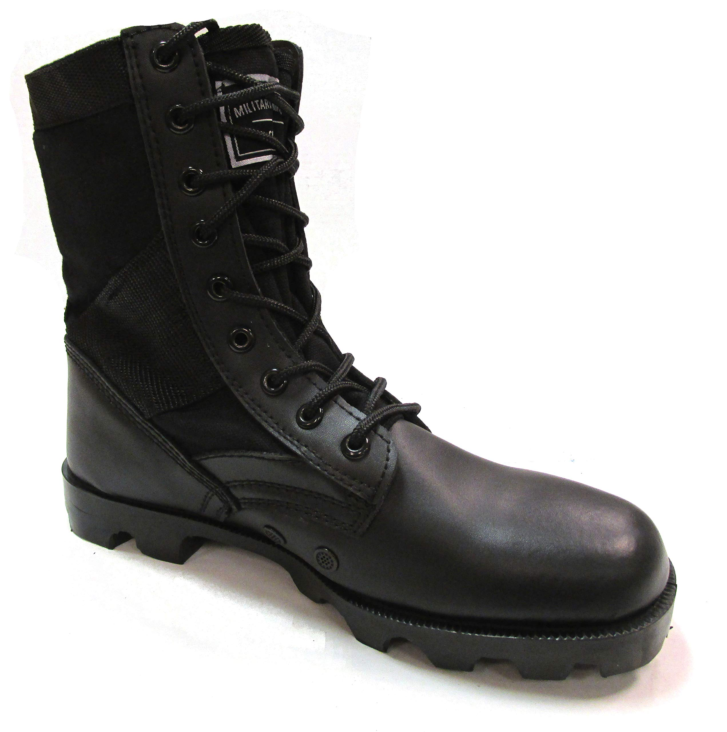 Military Uniform Supply Jungle Boots Black - 10 Regular