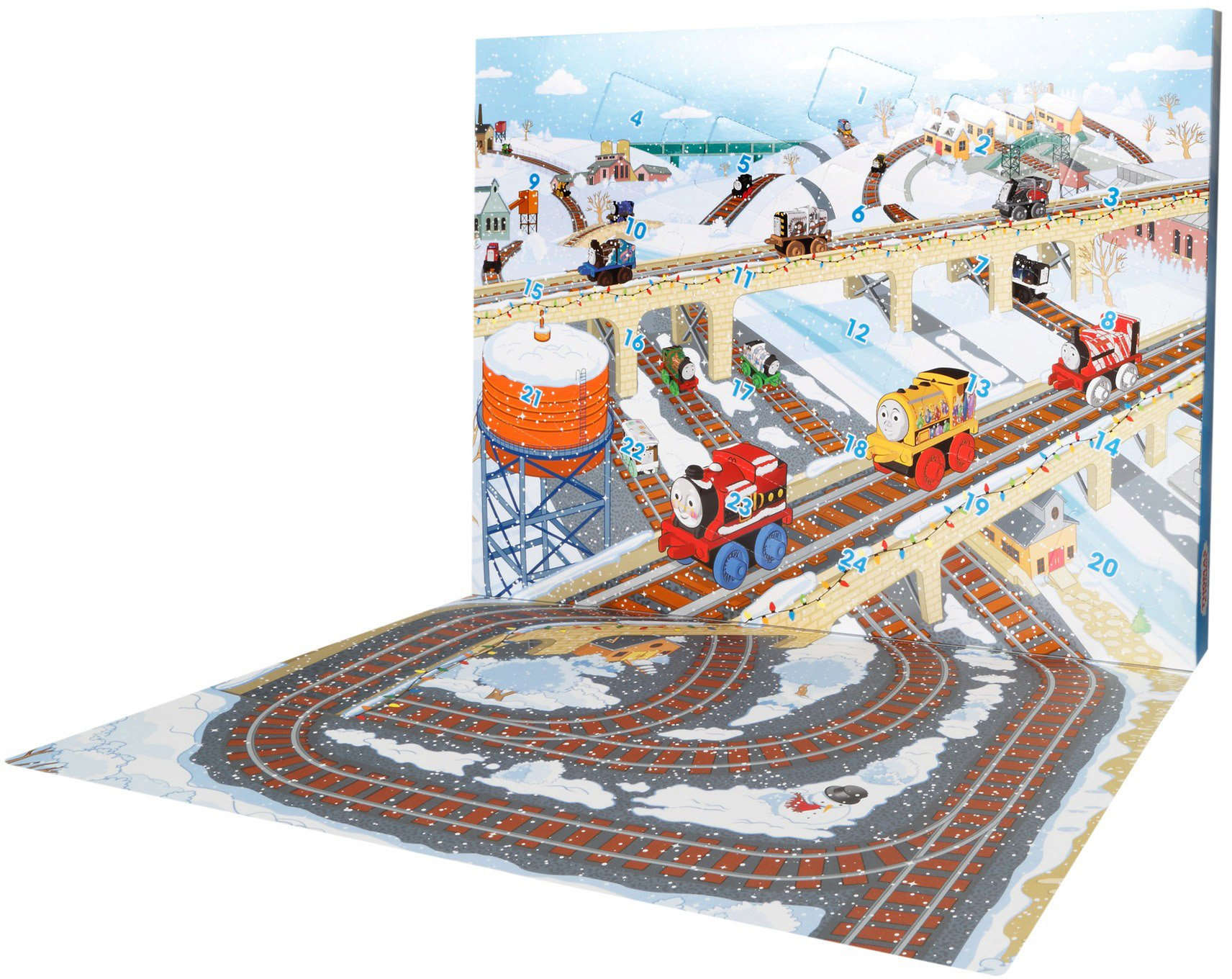 Thomas & Friends Fisher-Price MINIS, Advent Calendar by Thomas & Friends (Image #7)