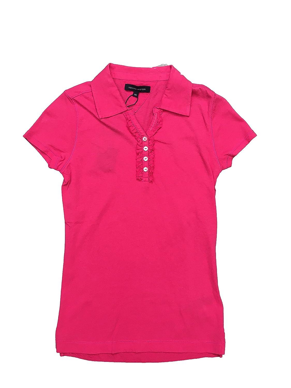 Tommy Hilfiger - Camiseta Polo Jane Ruffle, Color: Rosa: Amazon.es ...