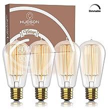Hudson Lighting Exposed Filament