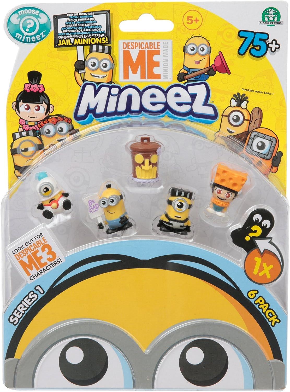 MINIONS - Blíster de Seis (Giochi Preziosi DEP01002): Amazon.es: Juguetes y juegos