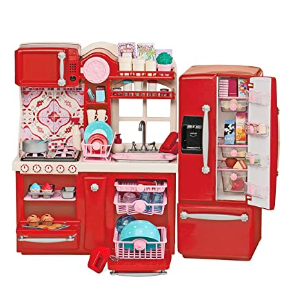 Amazon Com Our Generation Gourmet Kitchen Toys Games