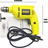 Cheston 10mm Powerful Drill Machine Reversible Variable Speed for Wall, Metal, Wood Drilling
