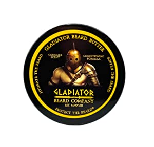 Gladiator Beard Butter (2 oz.) - Conquer Scent - All-natural, whipped beard butter ultra-conditioning formula designed to hydrate and soften your beard, and leave it smelling awesome.