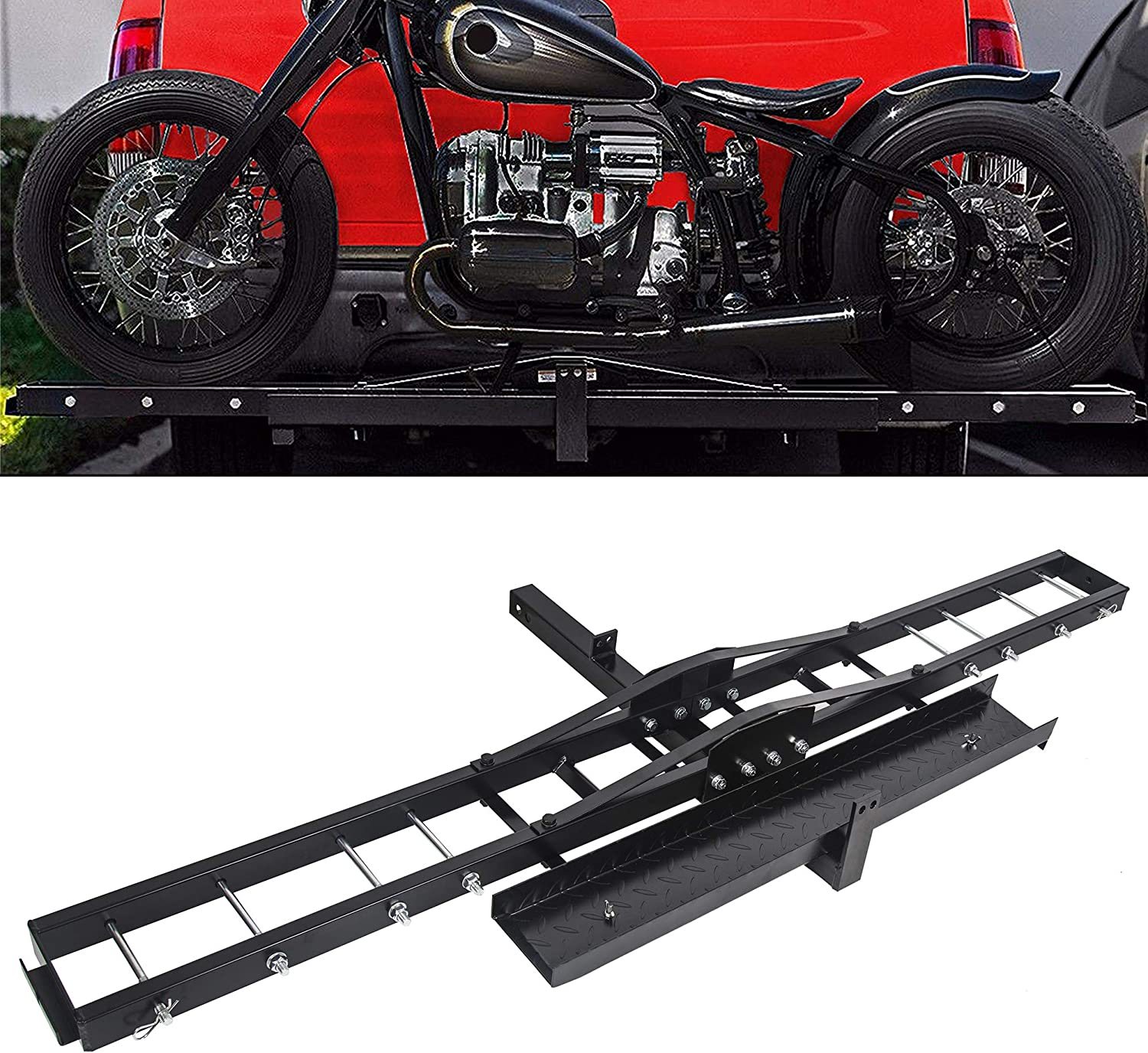 Ecotric Motorcycle Hitch Mount Carrier