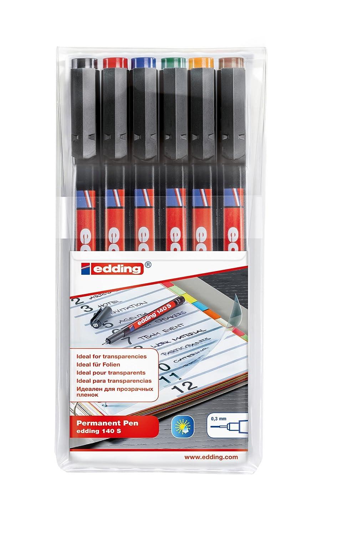 rot 0,3 mm edding Non-permanent Pen edding 150 S