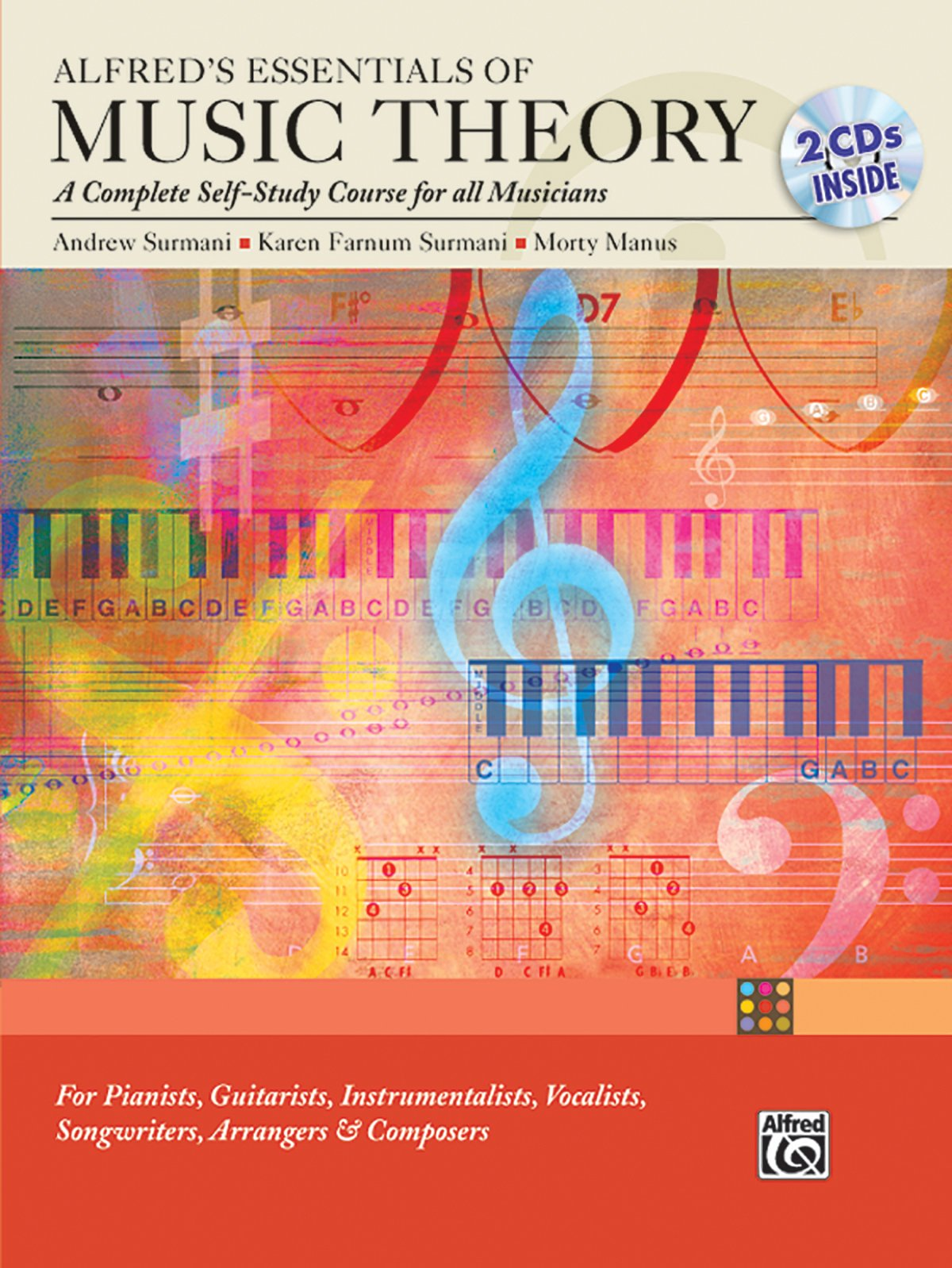 Read Online Alfred's Essentials of Music Theory: A Complete Self-Study Course for All Musicians (Book & 2 CDs) pdf epub