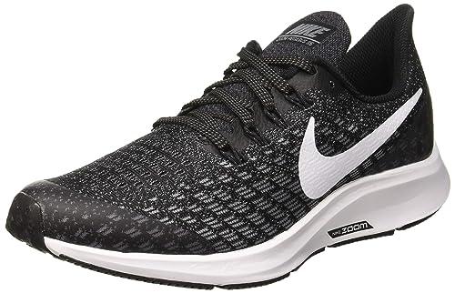 innovative design 62c3f 0b09e Nike Air Zoom Pegasus 35 (GS), Zapatillas para Hombre,  (Black White Gunsmoke Oil Grey 001), 39 EU  Amazon.es  Zapatos y  complementos
