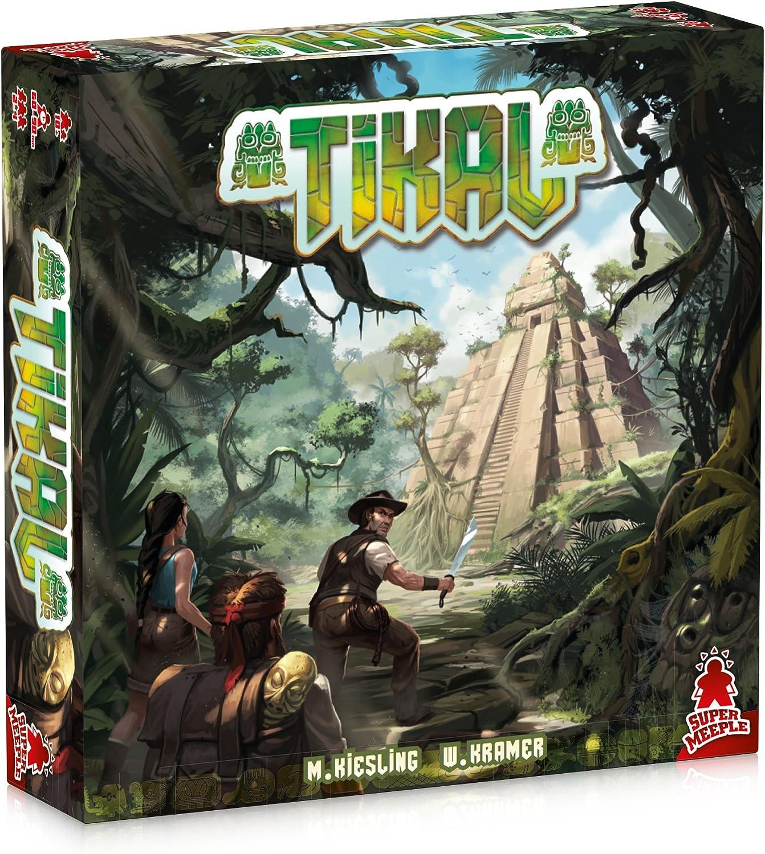 dV Giochi dvg2003–Tikal Juegos de Barco Explorador piazzamento y maggioranze