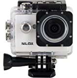 Nilox Mini UP Action Cam HD Ready 720p, 30 fps, Bianco