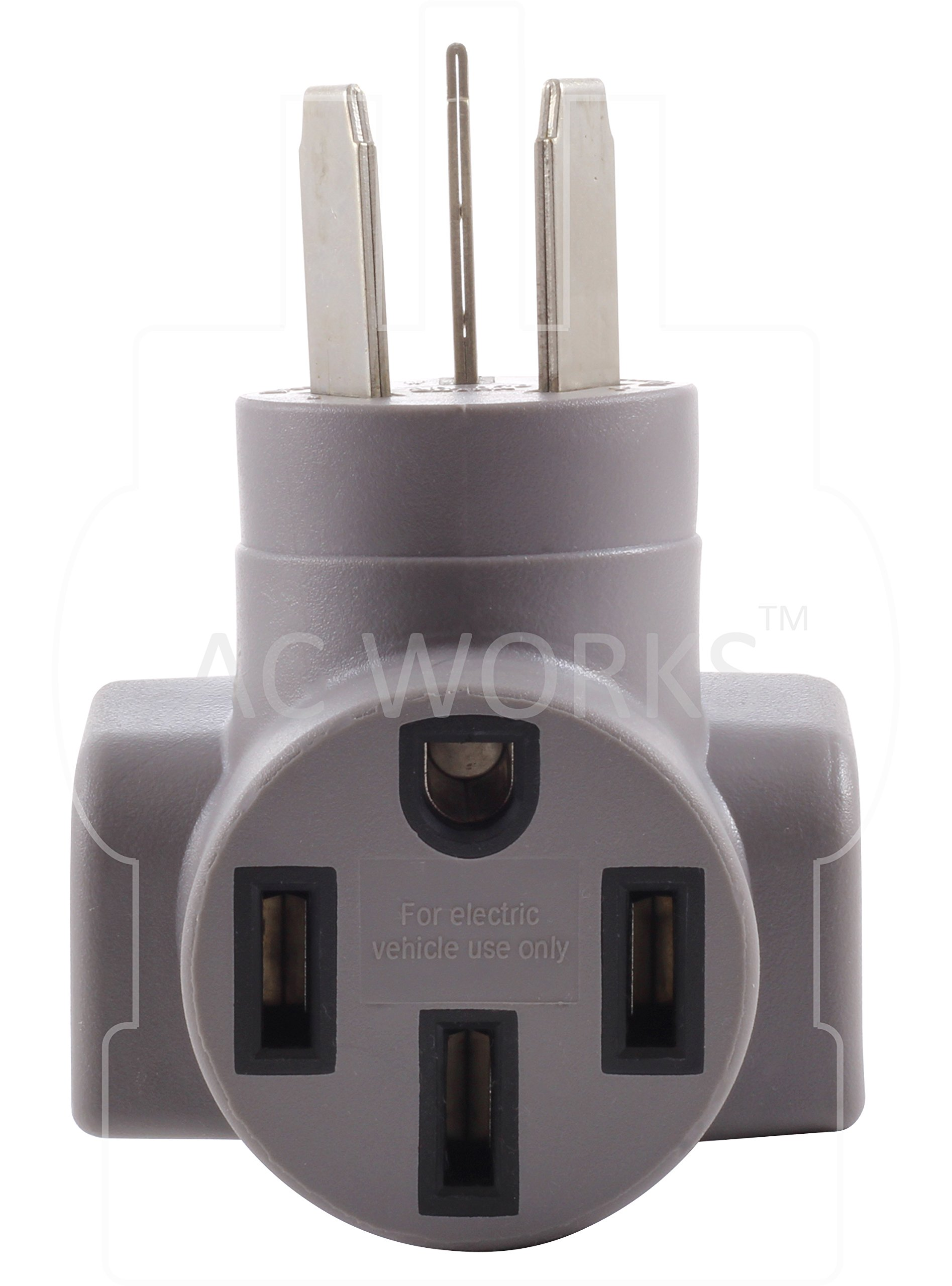 AC WORKS EV Charging Adapter for Tesla Use (10-50 50A 3-Prong Straight Blade to Tesla) by AC WORKS (Image #4)