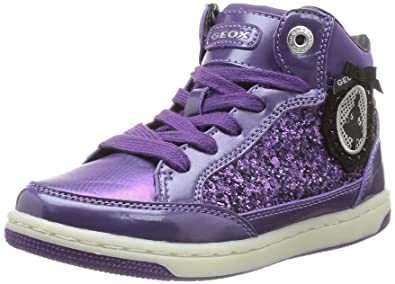 Violet violet Mode Geox Amazon Creamy 26 Jr Fille Eu Baskets YXnAYtS6x