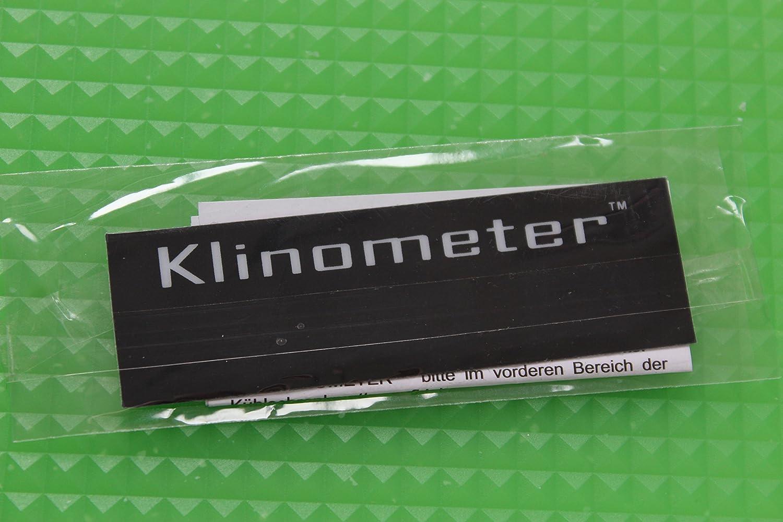 Kühlschrankmatte : Klin tec kühlschrankmatten set tlg grün mit klinometer x