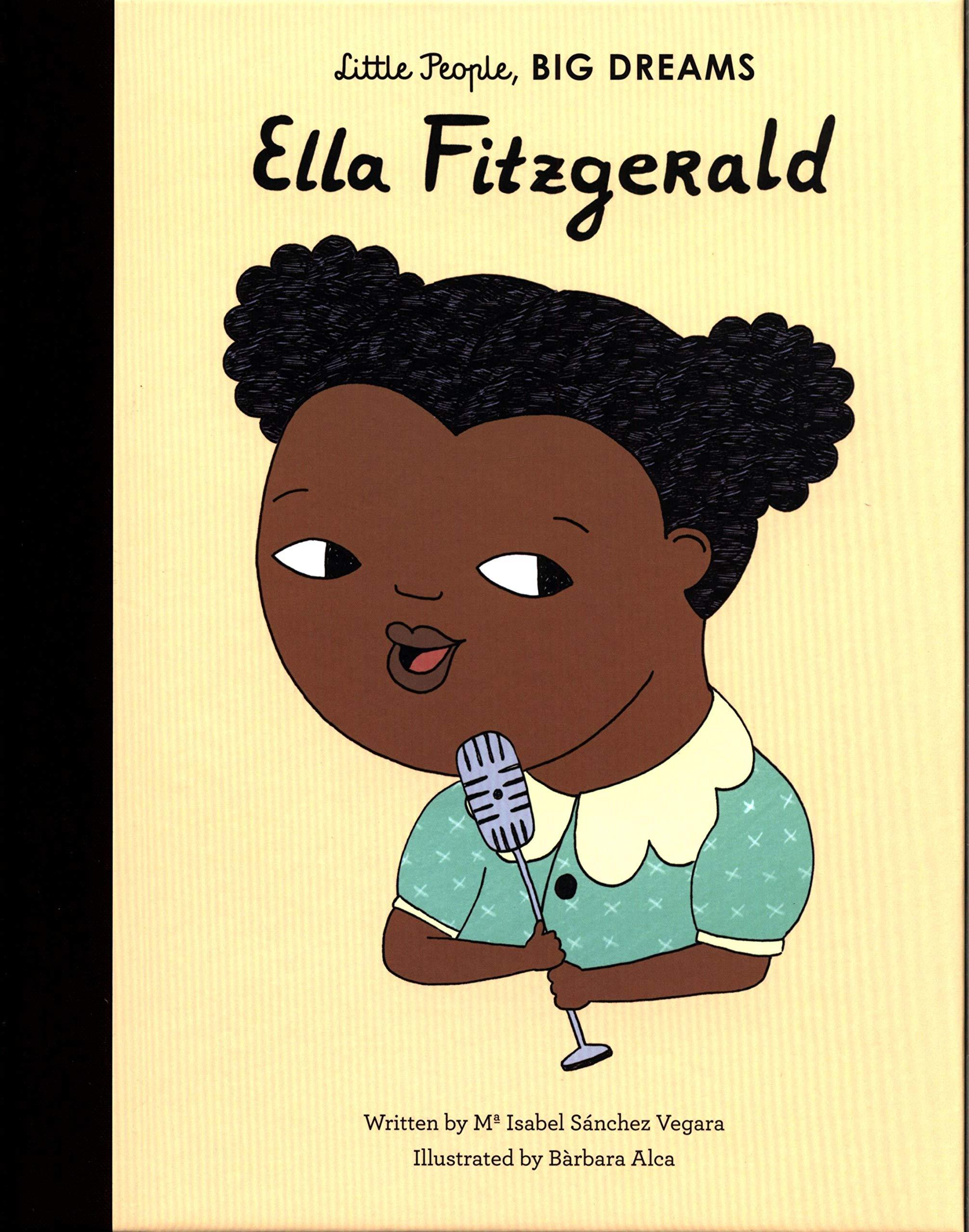 Image result for little people big dreams ella fitzgerald