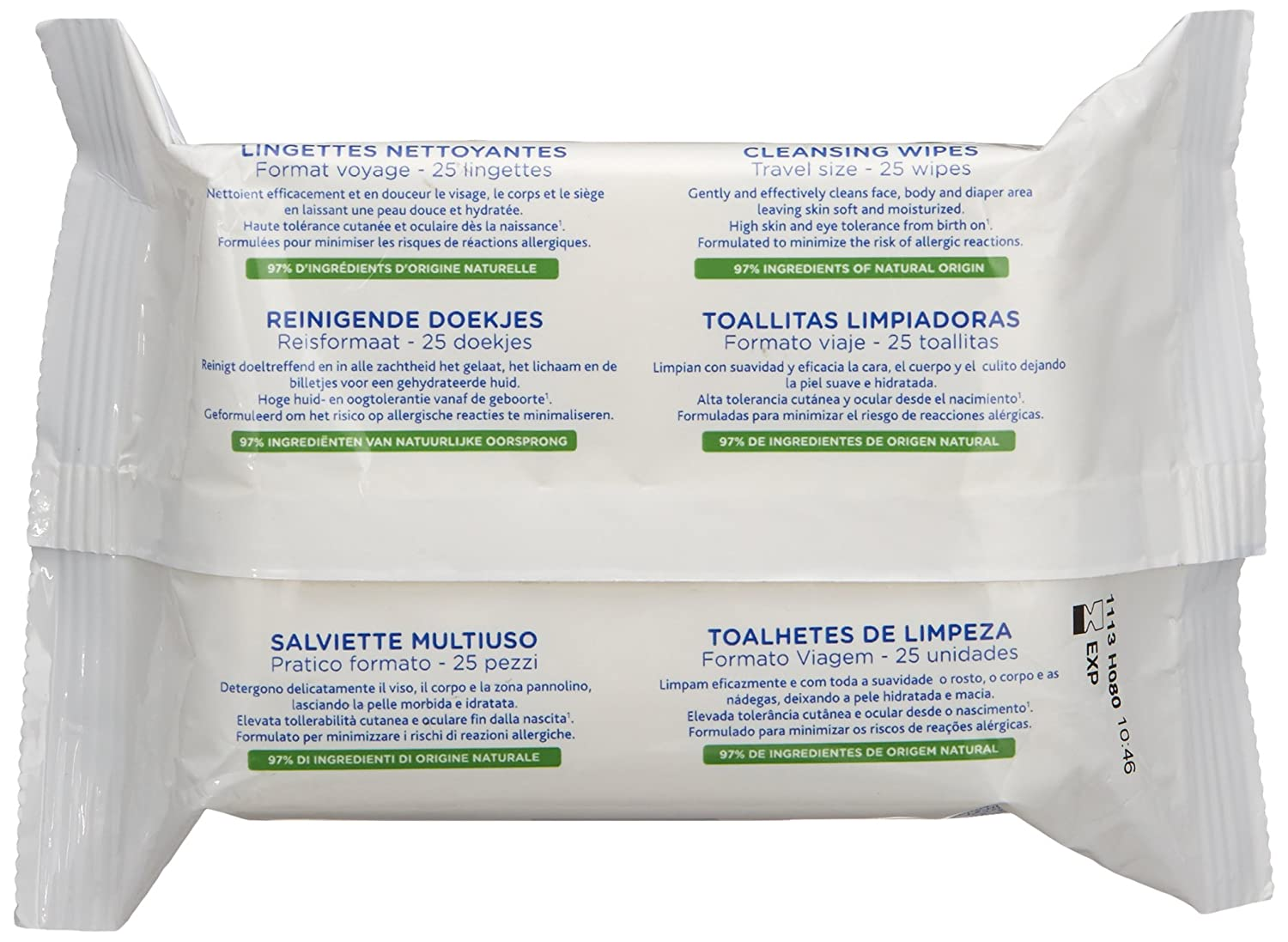 Amazon mustela cleansing wipes 25 count luxury beauty solutioingenieria Choice Image