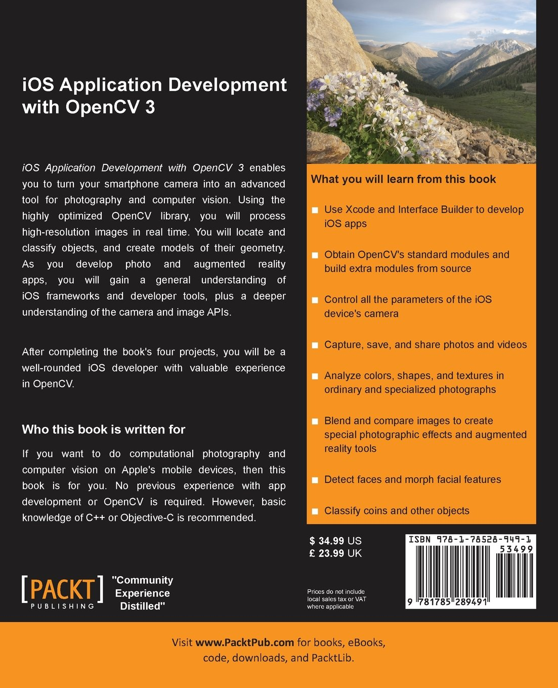iOS Application Development with OpenCV 3: Joseph Howse