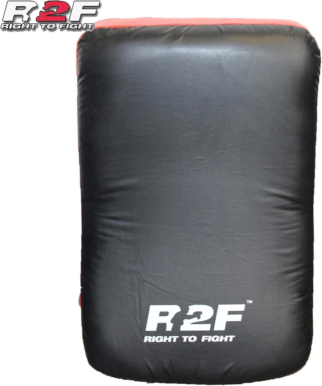 Krav Maga Strike Body Shield Martial Arts Taekwondo Great for MMA R2F Kick Shield for Kickboxing Training |Curved Muay Thai Kicking Pad