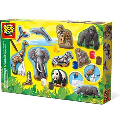 SES Creative Casting & Painting Animals Fun To Create: Toys & Games