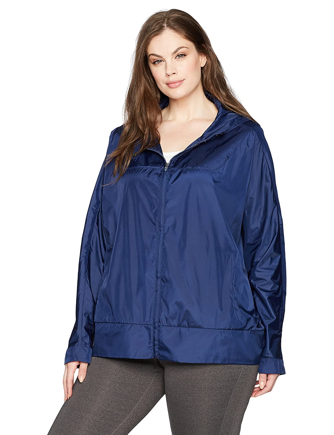 SHAPE activewear Women's Plus Size Breeze Wind Breaker PSU17536
