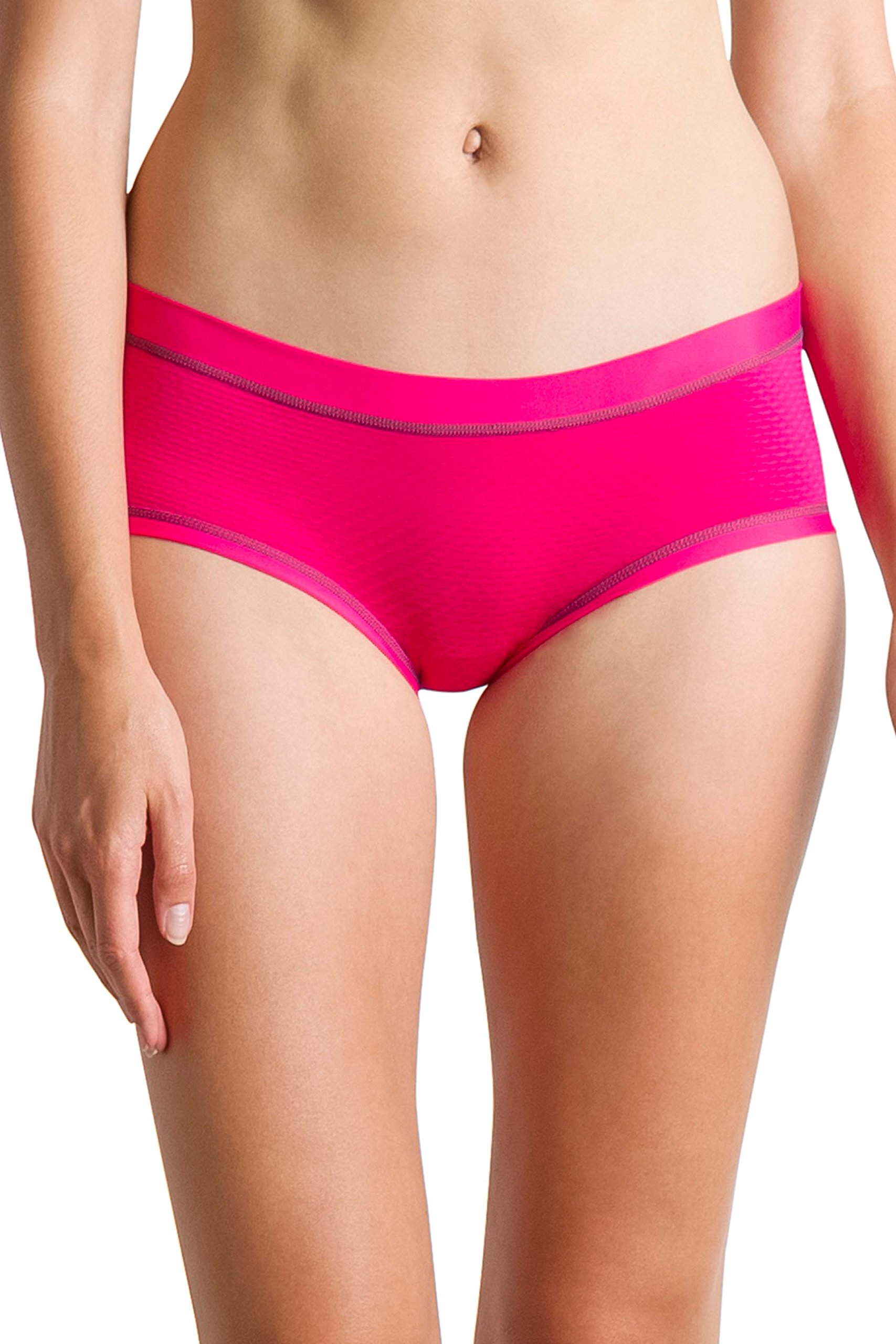 ExOfficio Women's Give-N-Go Sport Mesh Hipkini Underwear, Pink Blush, Medium